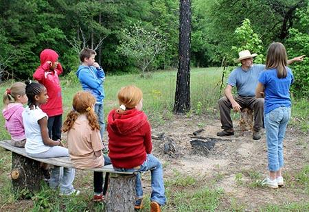 Home school outdoor education