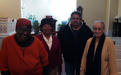 Four Members at First Congregational in Marion