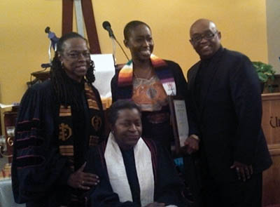 Dr. Stephanie M. Crumpton's ordination