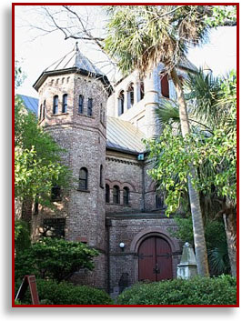 Circular Congregational Church in Charleston
