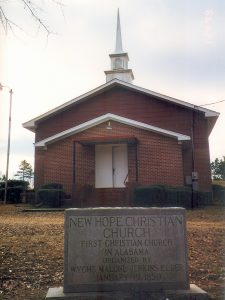 New Hope Congregational Christian Church, Roanoke, Alabama